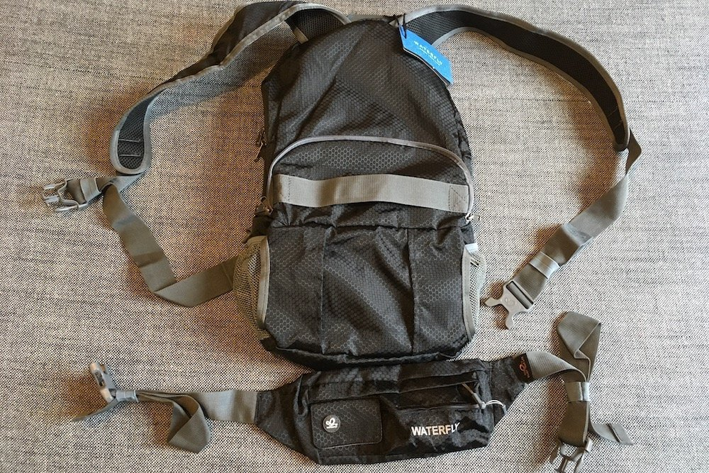 Attaching Fanny Pack to WaterFly Backpack