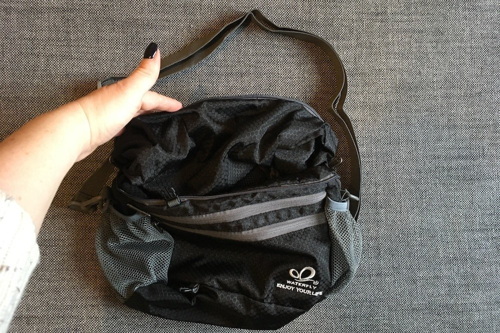 How to Turn WaterFly Backpack into a Shoulder Bag