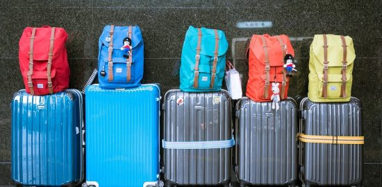 Luggage and backpacks