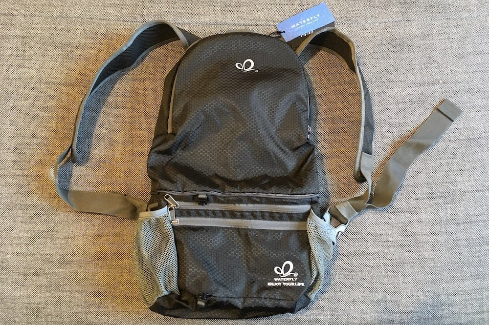 The WaterFly backpack