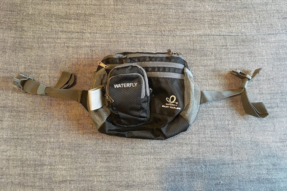 The WaterFly waist bag with a Arm Bag