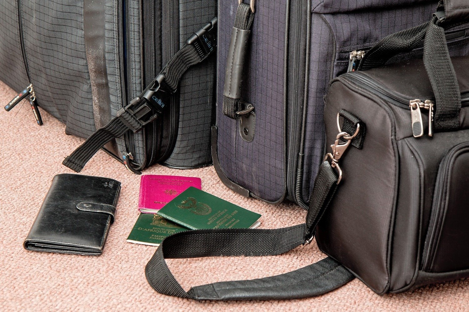 Travel bags and suitcases