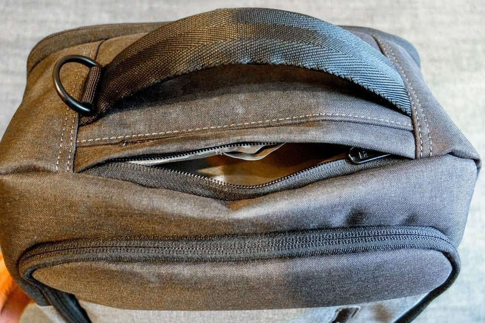 Daily backpack - Secret pocket 1