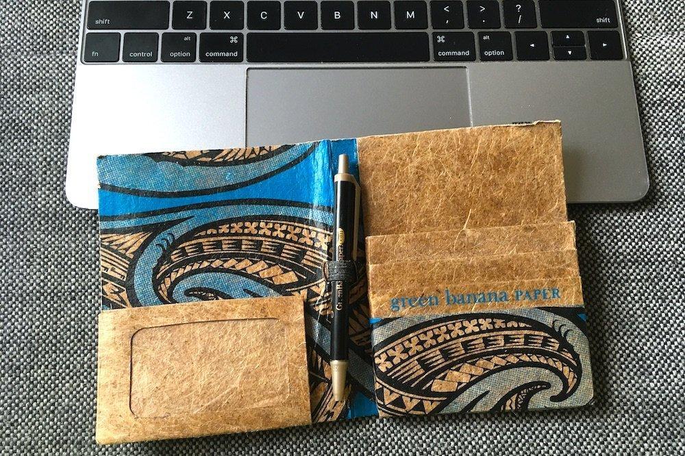 Green Banana Paper Passport Cover - Best Passport Holders