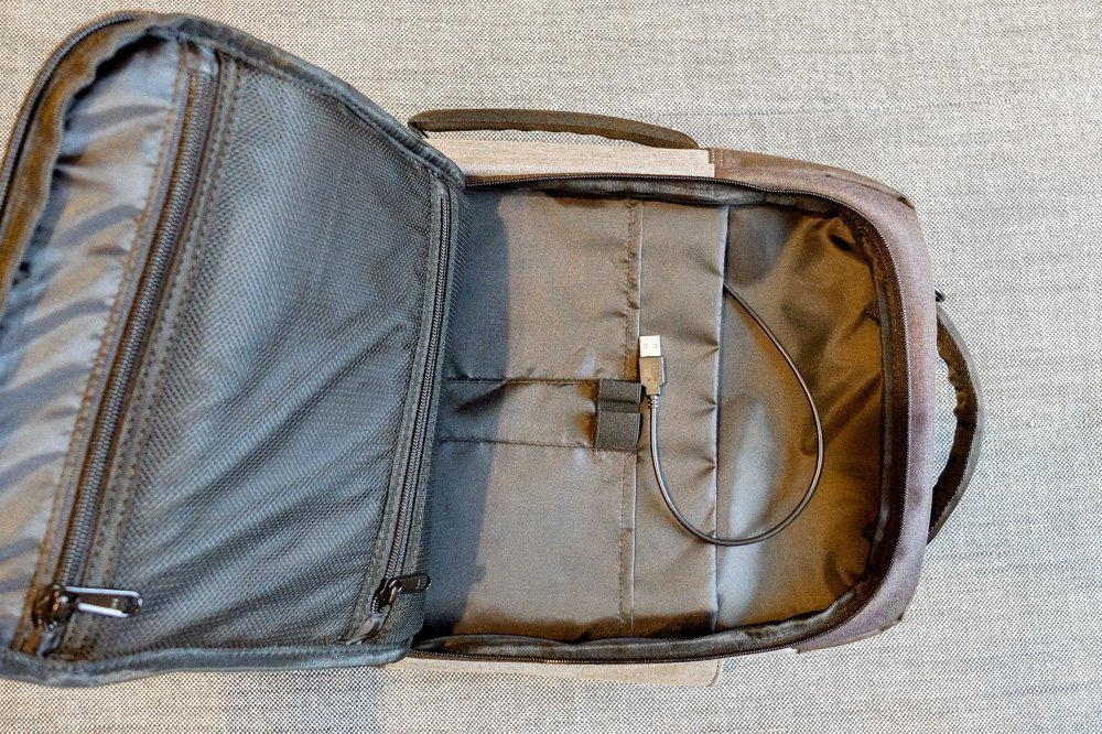 Standard Luggage Daily Backpack - Front pocket
