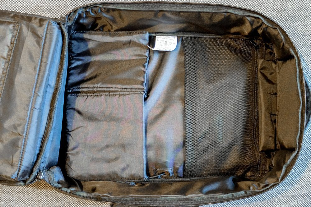 Standard Luggage Daily Backpack Main Compartment 2