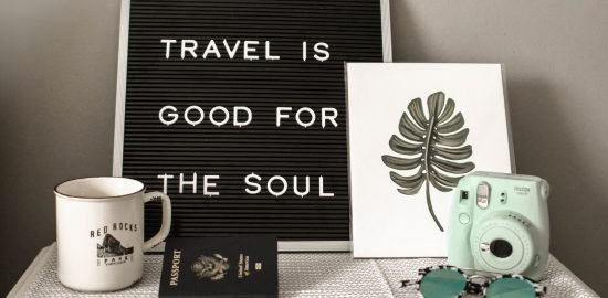 Inspirational quote about travel