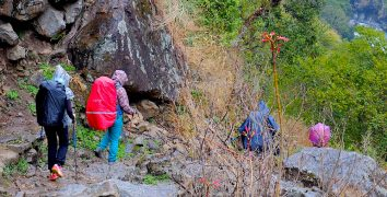 Hiking in Nepal - Best Backpack Raincovers