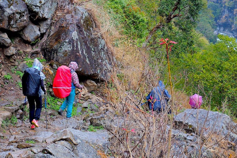 Hiking in Nepal - Best Backpack Raincovers