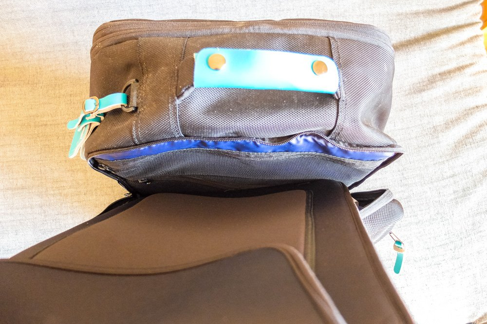 Removable laptop sleeve - Standards Carry on backpack
