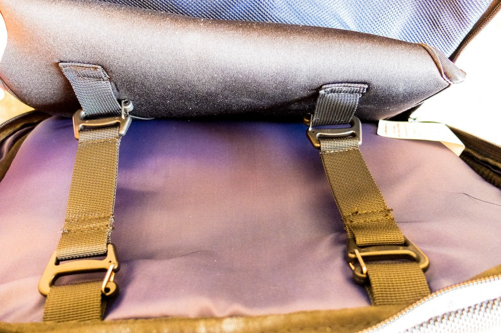 Removable laptop sleeve with straps - Standards Carry on backpack