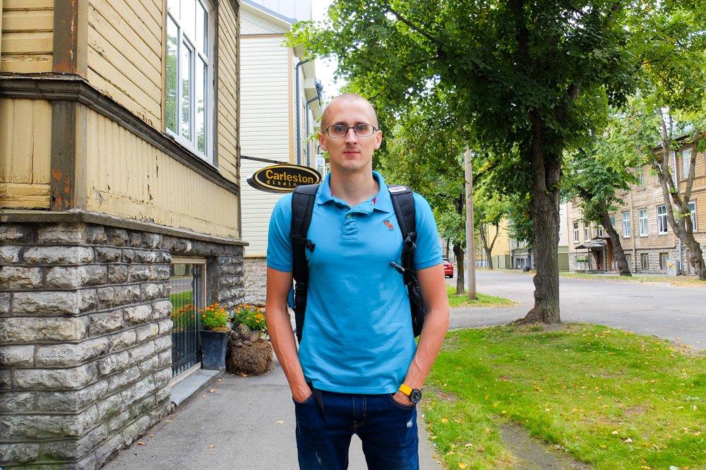 Shoulder straps of the Standard Carry on backpack