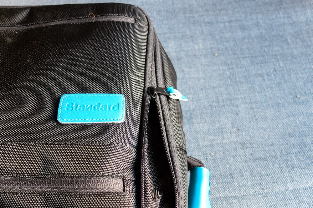 Standard Carry on backpack - logo