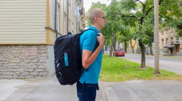Standard Carry on backpack - side handle