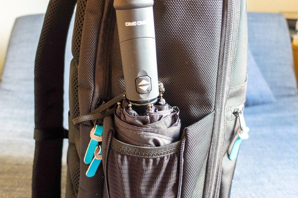 Standard Luggage Carry on Backpack - Side pocket