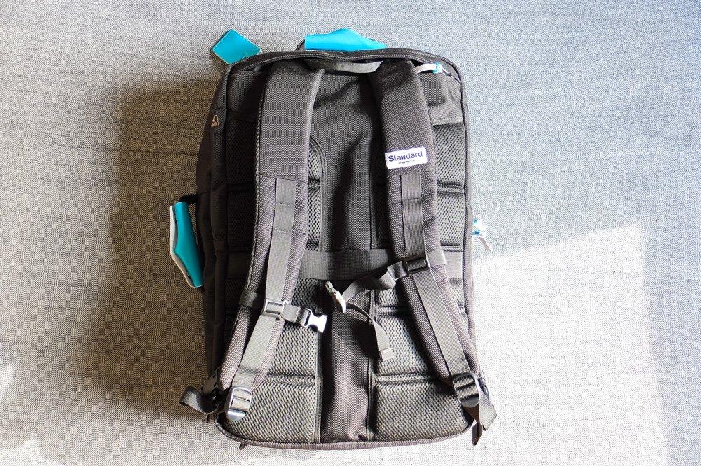 Standards Carry on Backpack - Back