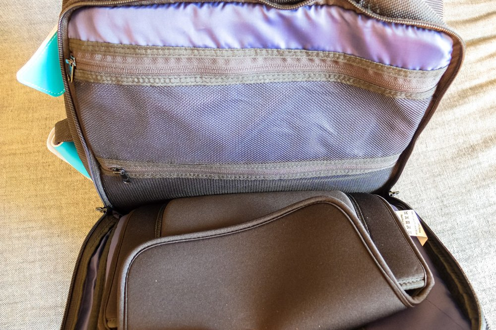 Standards Carry on Backpack - Pockets of the laptop compartment