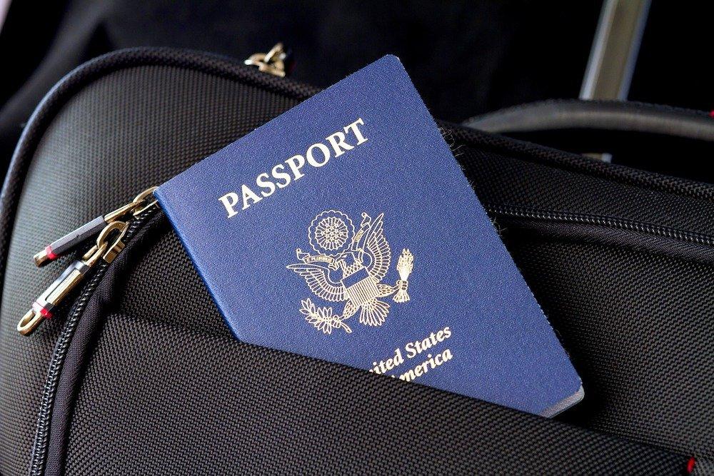 Travel passport luggage