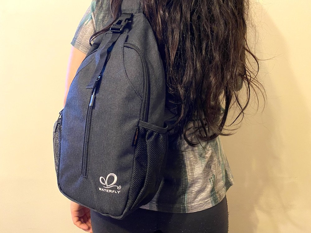 Waterfly Mini sling bag - featured