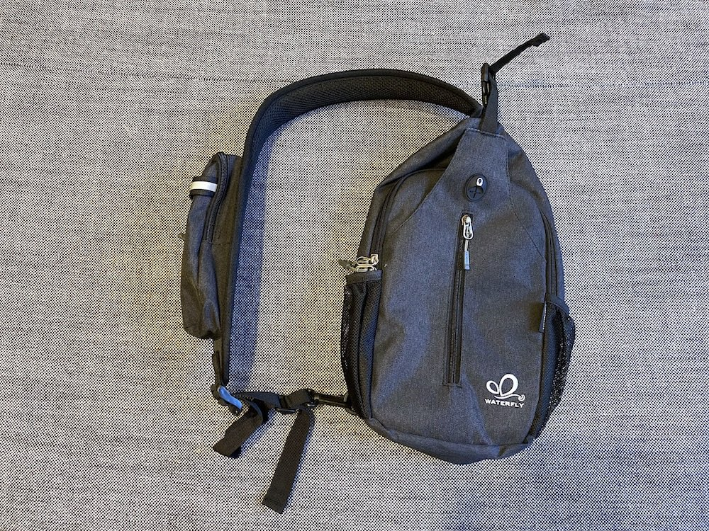 Waterfly Mini sling bag - front