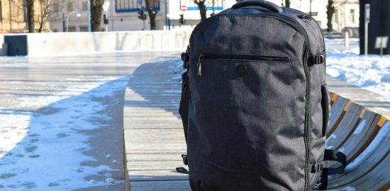 Tortuga Setout backpack from the front - Tortuga Setout Review