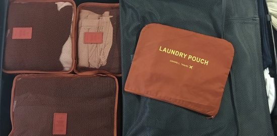 Packing cubes - Best travel underwear organizer