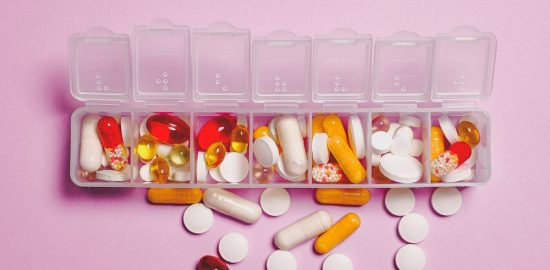 Pills in a pill box - Best pill organizer for travel
