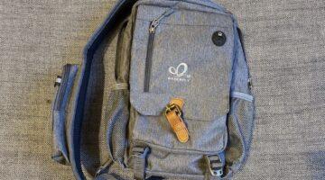 A grey sling bag - Best sling bag for women 2021
