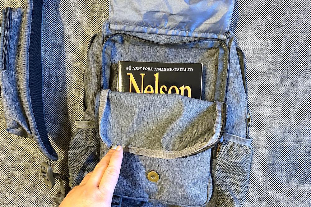 Compartments of a sling bag - Best sling bag for men 2021